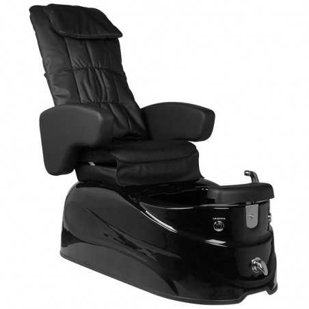 PEDICURE SPA ARMCHAIR AS-122 BLACK WITH MASSAGE FUNCTION