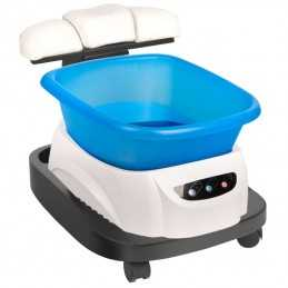 AZZURRO TRAY WITH A MASSAGER AND A TROLLEY