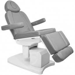 COSMETIC ELECTRIC CHAIR. AZZURRO 708A 4 MOTOR GRAY