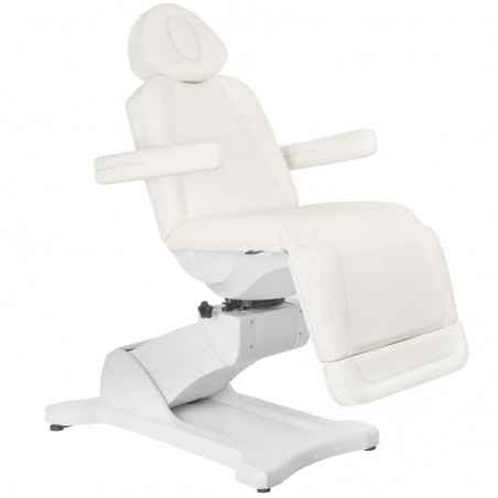 COSMETIC ELECTRIC CHAIR. AZZURRO 869A ROTARY 4 MOTOR WHITE
