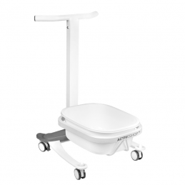PEDICURE COMFORT TRAY ON WHEELS WITH LIFT FUNCTION