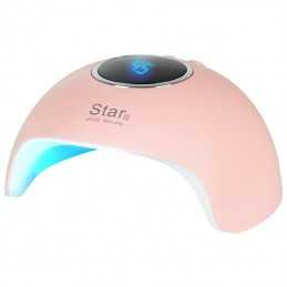 LAMP UV LED STAR 6 24W PINK