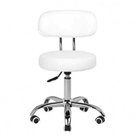COSMETIC STOOL FOR PEDICURE A-007 WHITE
