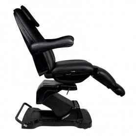 COSMETIC ELECTRIC CHAIR. BASIC 161 ROTARY BLACK