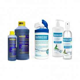 BARBICIDE - SET Concentrate 2000 ml + HAND DISINFECTION 250 ml + WIPES 120 pcs.