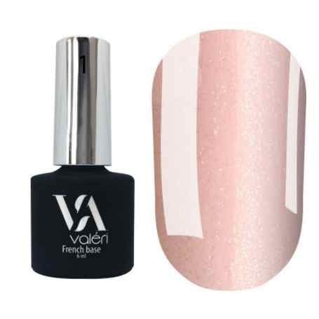 Camouflage French Base №1 VALERI (light pink with golden micro-shine)