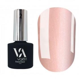 Camouflage Base VALERI (rosa claro con microbrillo plateado)