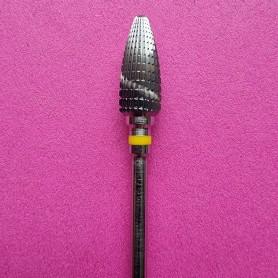 "Tungsten carbide cutter ""Flame"", very fine grit"