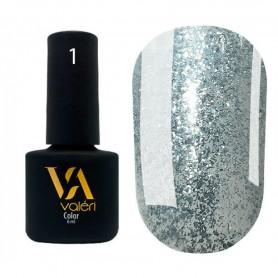 Diаmond №01 UV Gel polish VALERI 6ml