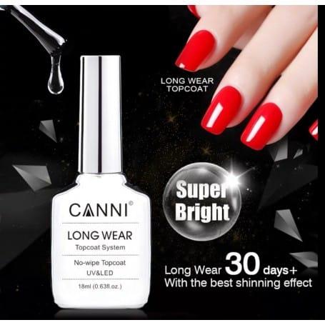 18ml CANNI LONG WEAR No-wipe Top Coat