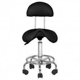 COSMETIC STOOL 6001 BLACK