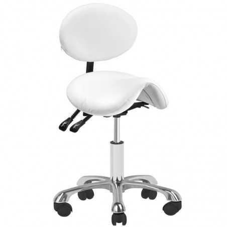COSMETIC STOOL 1025 WHITE GIOVANNI