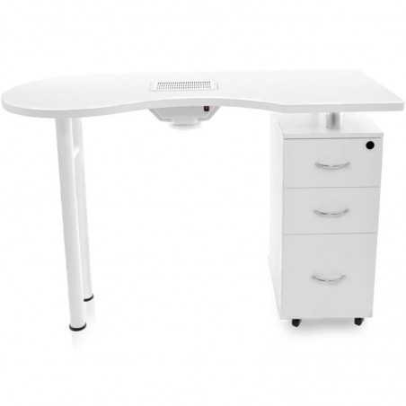 DESK 2042 WHITE WITH ABSORBER