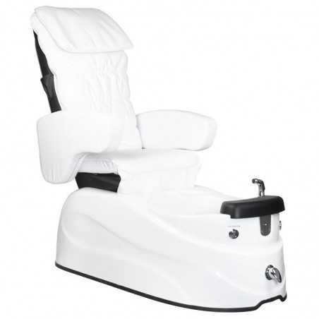 PEDICURE SPA ARMCHAIR AS-122 WHITE WITH MASSAGE FUNCTION