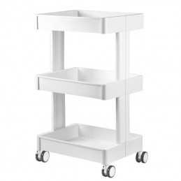 COSMETIC TROLLEY 084 WHITE